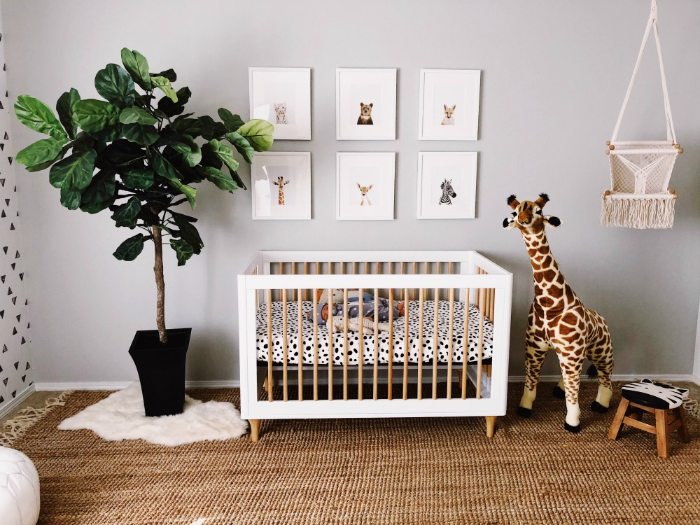 modern baby bedroom modern nursery thenurseries 12435